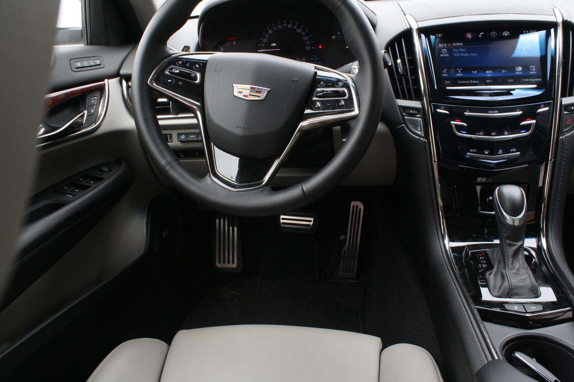 Floor Mats Cadillac ATS Interior White Leather