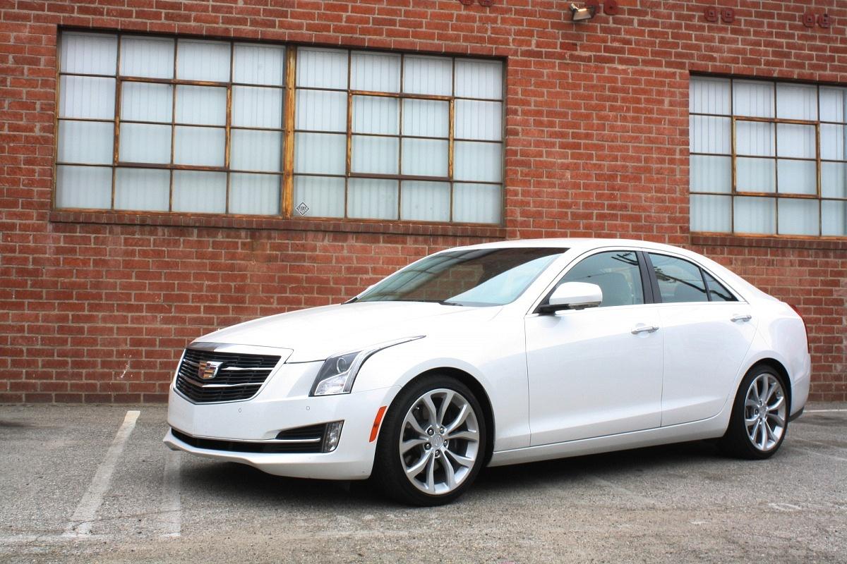 Cadillac ATS White