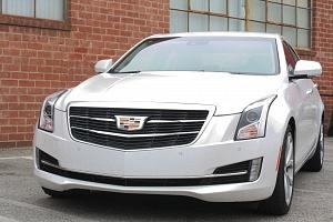 Cadillac ATS White Front