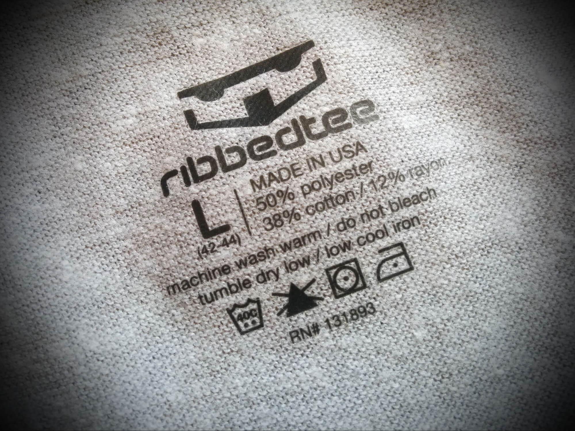 RibbedTee-Undershirt