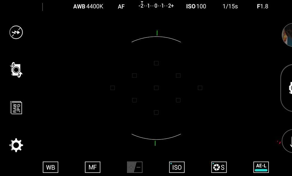 LG V10 Camera Controls