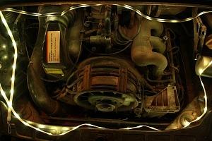 Power Practical Luminoodle XL Plus Engine Bay