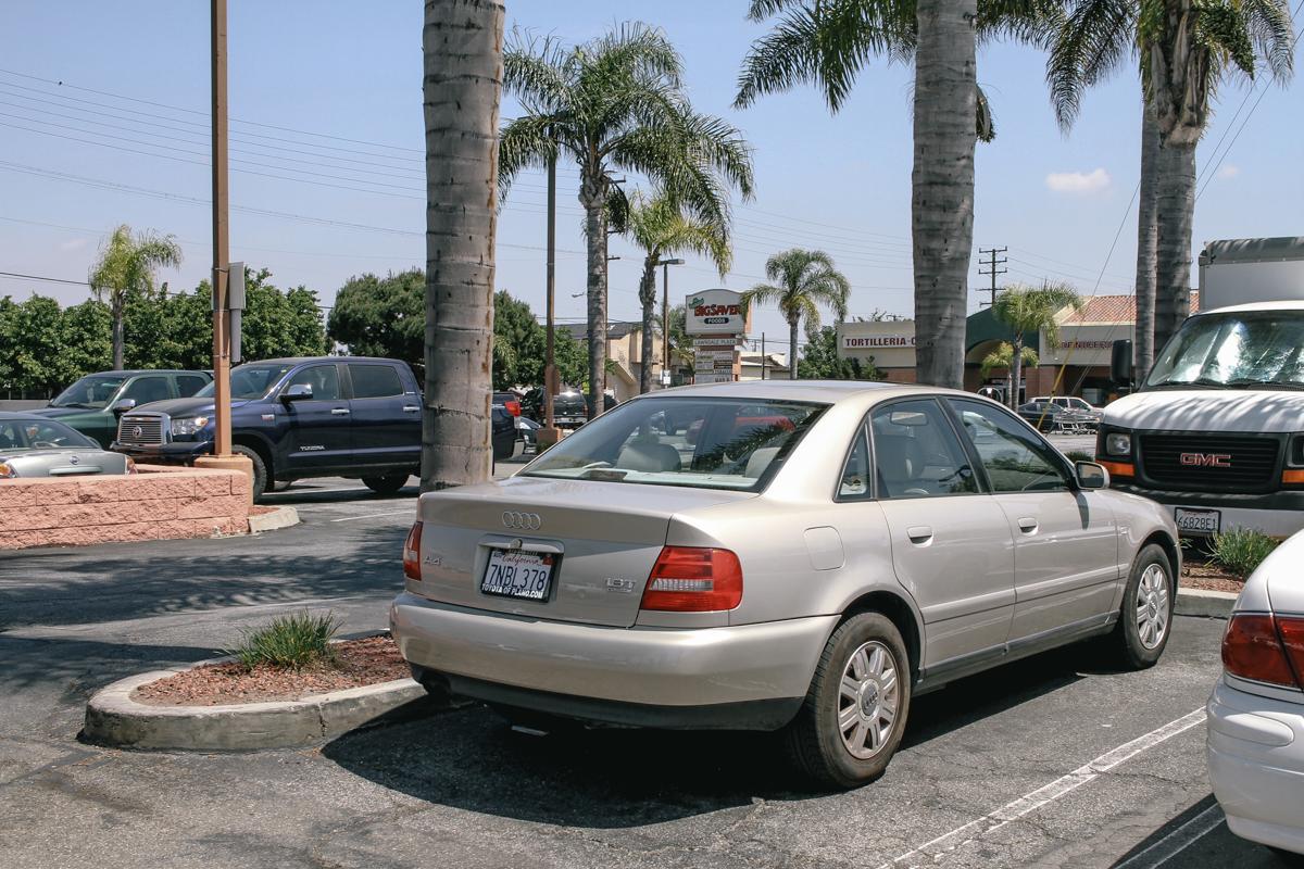 2001 Gold Audi A4 FactoryTwoFour How to flip a car