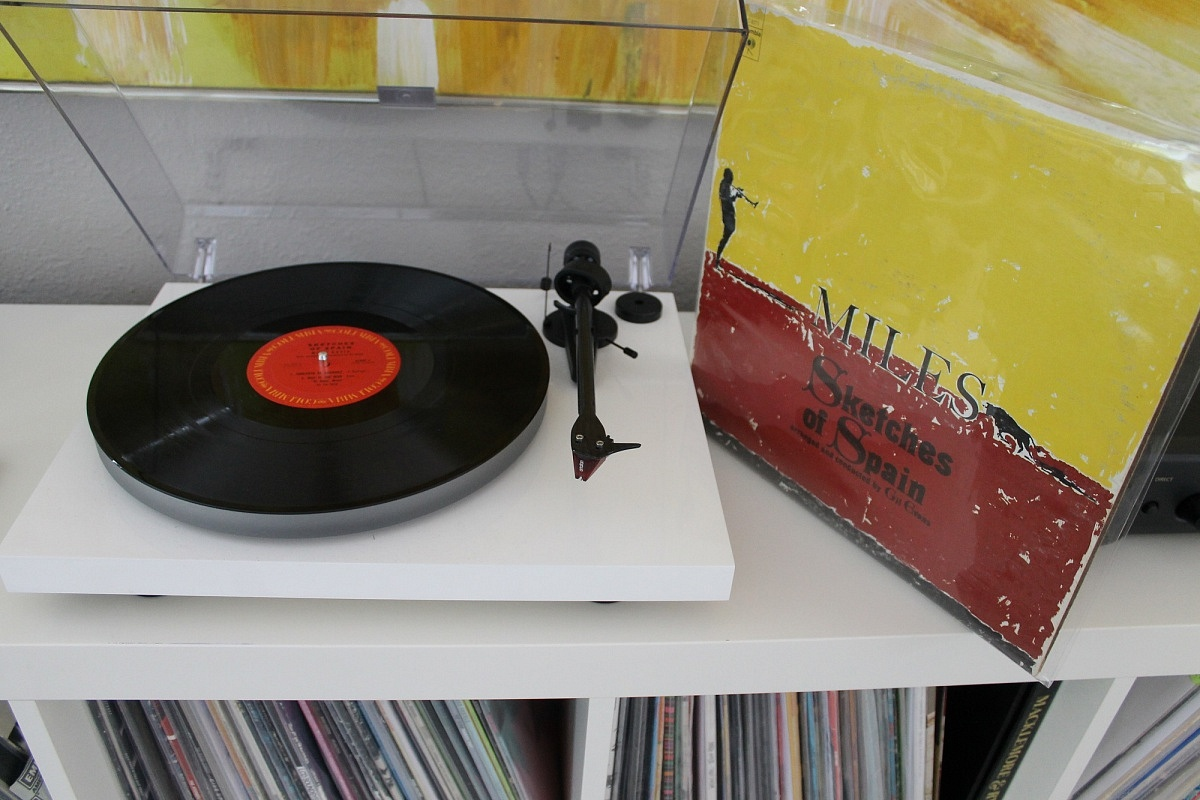 turntable white miles david sketches of spain vinyl