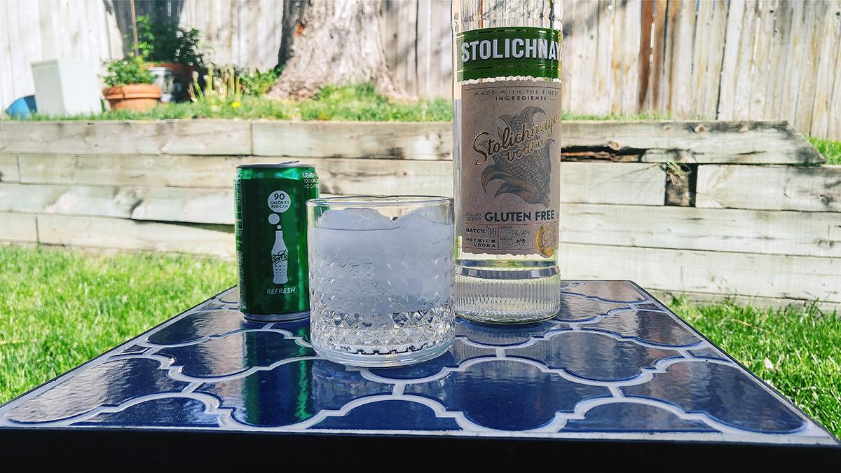 Stoli Gluten Free Vodka Bottle Drink