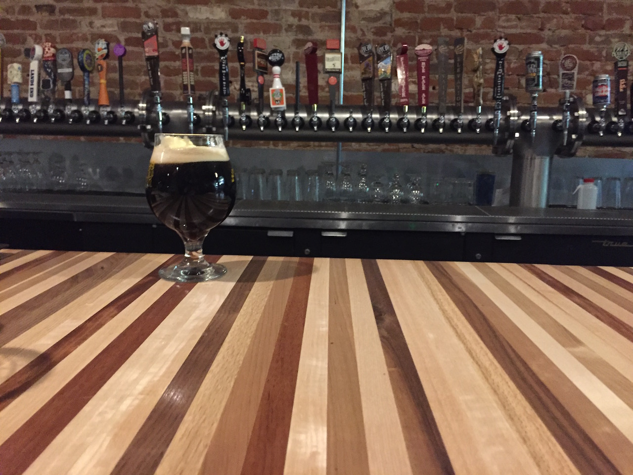 Double Chocolate Raspberry Nitro Stout
