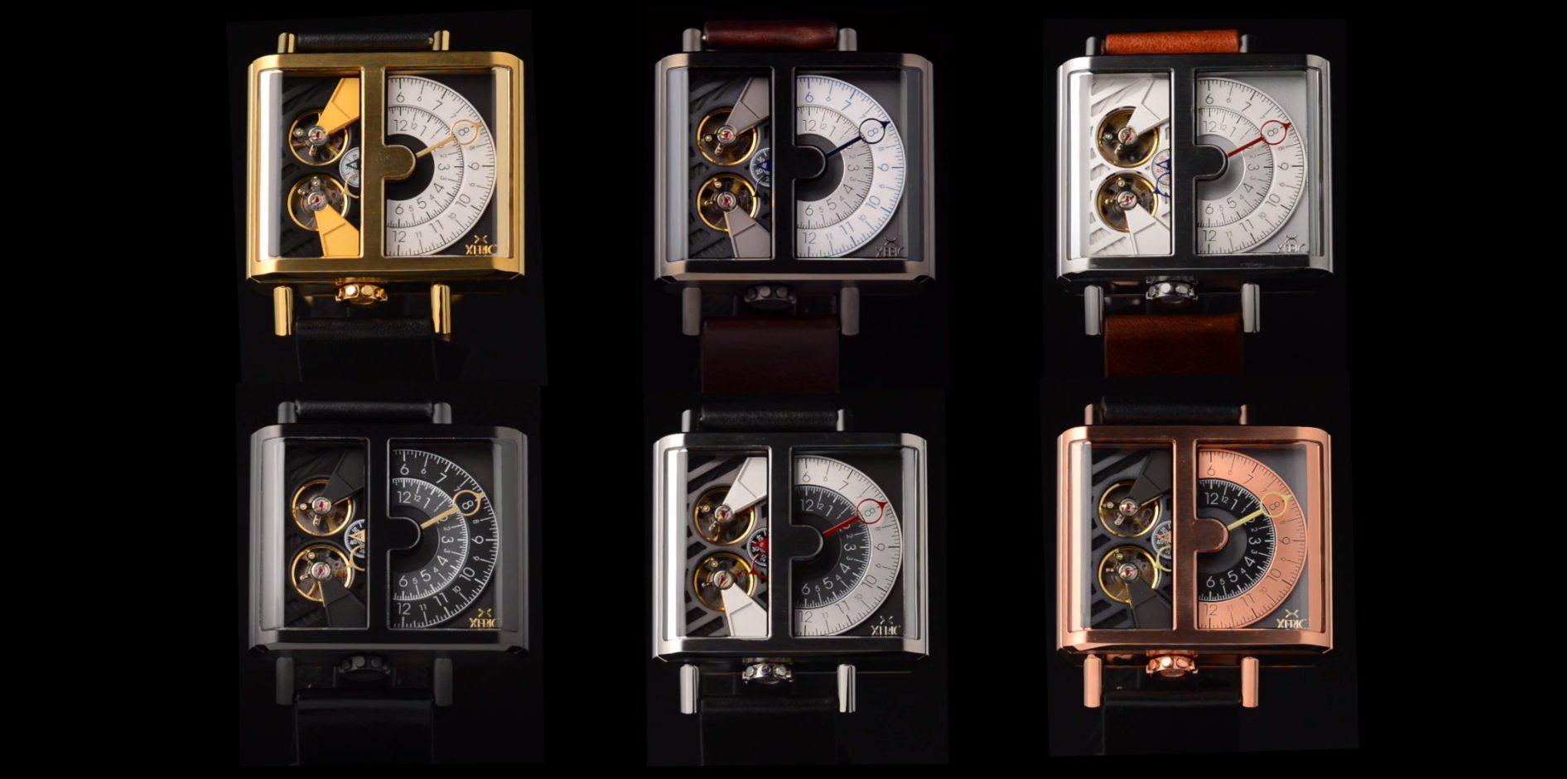 XERIC Watches lineup kickstarter