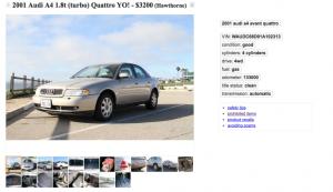Audi A4 Quattro Gold For Sale