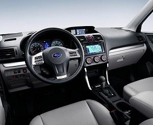 2016 Subaru Forester Dash Interior