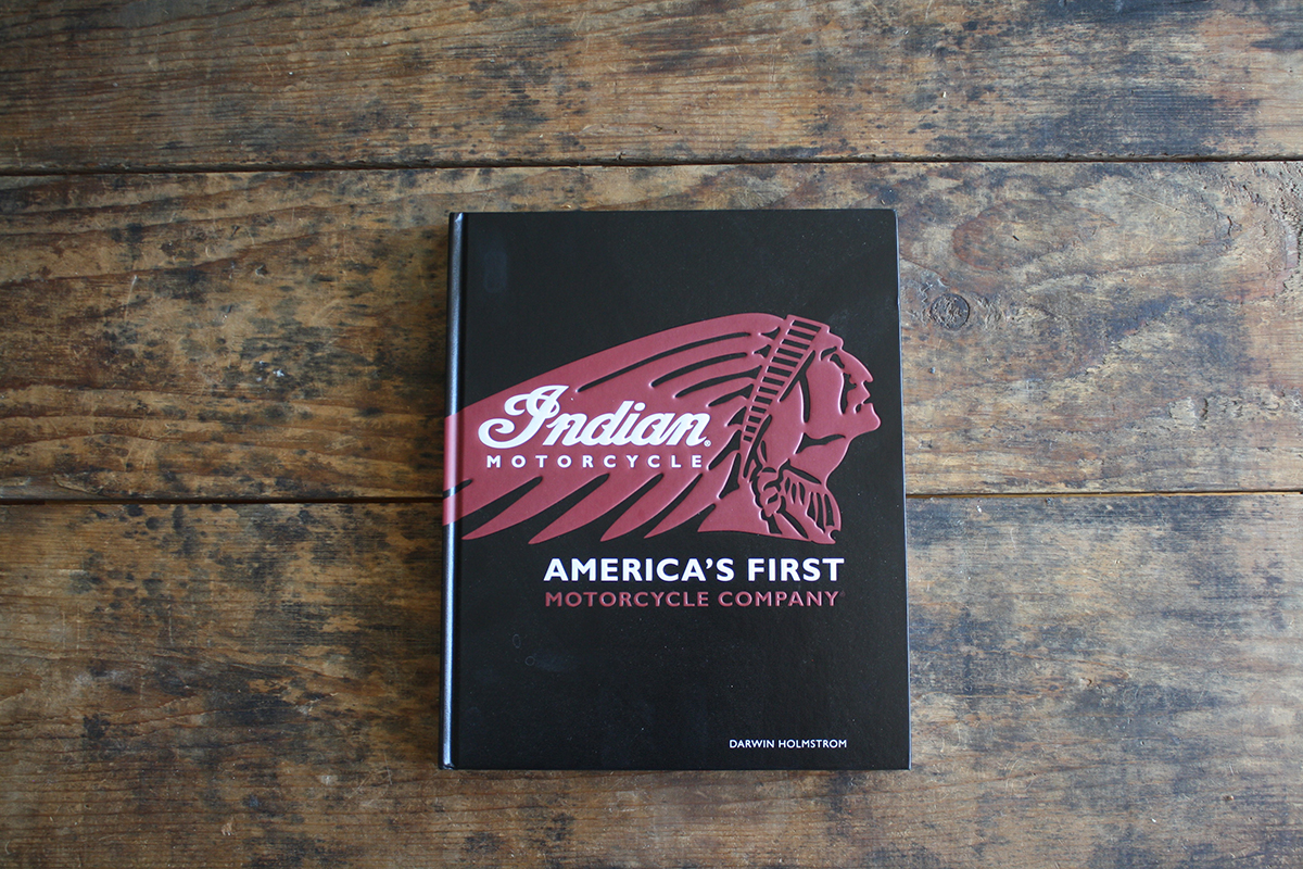 Indian Motorcycle History Book FactoryTwoFour
