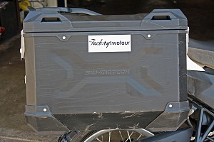 2012 BMW G650 GS Sertao SW-Motech Hard Luggage FactoryTwoFour