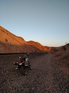 The Bet FactoryTwoFour Overland Adventure Motorcycle