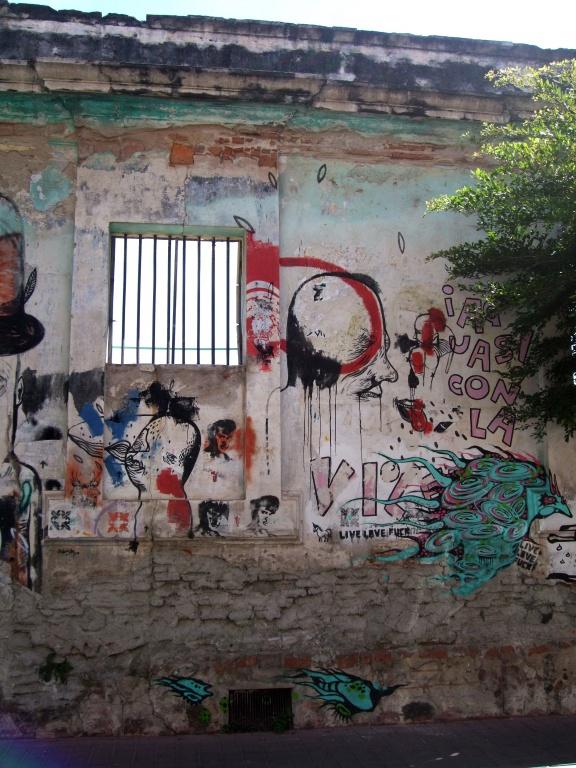 Mazatlan street art.