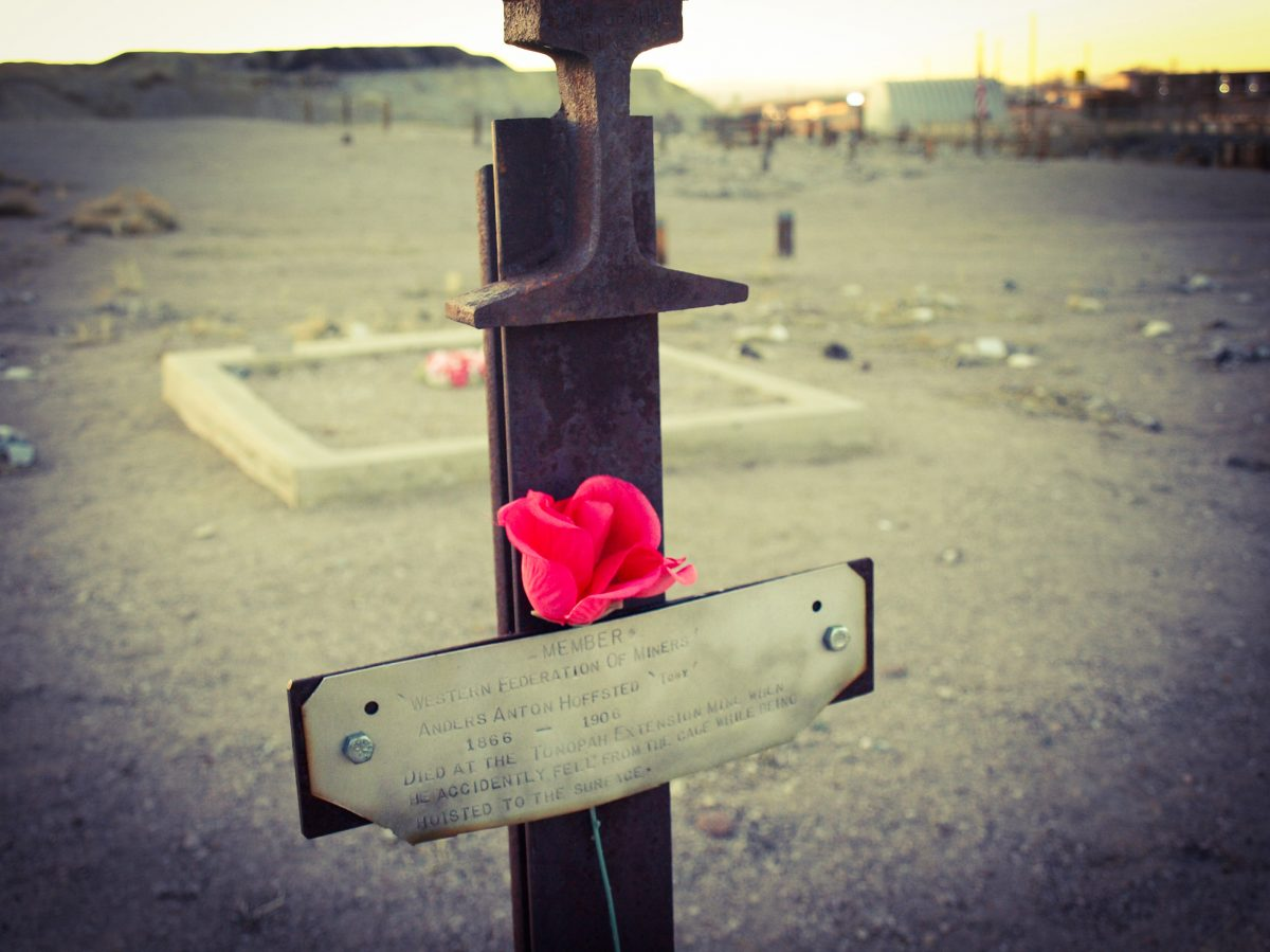 historic graves in Nevada