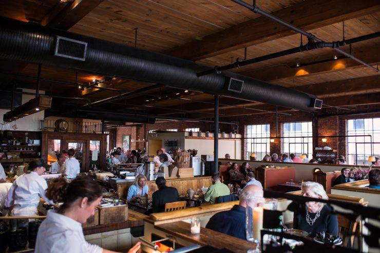 Fore Street Restaurant in Portland, Maine