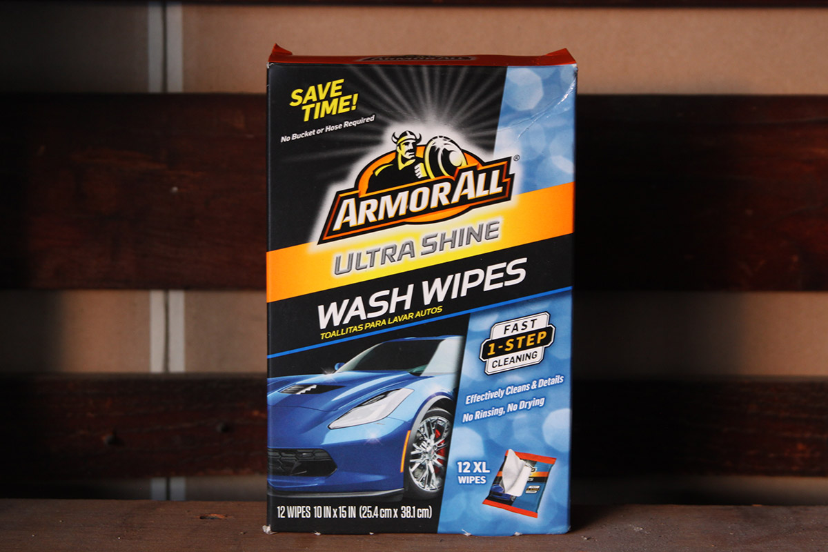 Ultra Shine Wash Wipes
