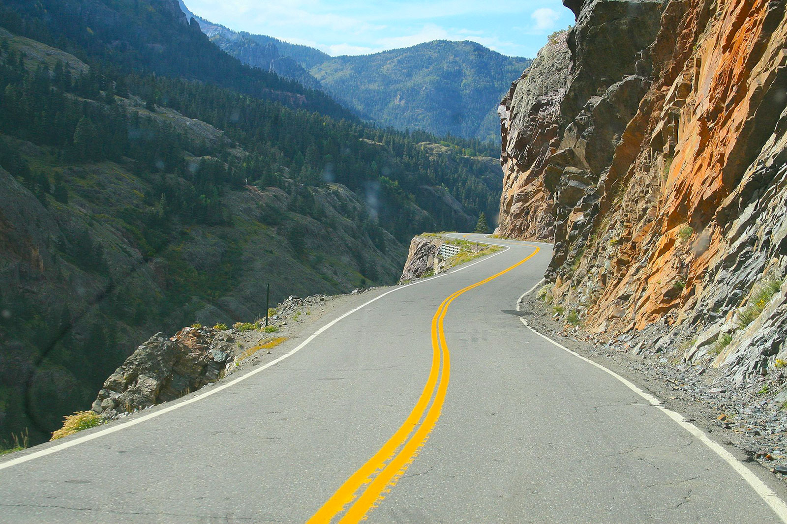Million Dollar Highway in Colorado