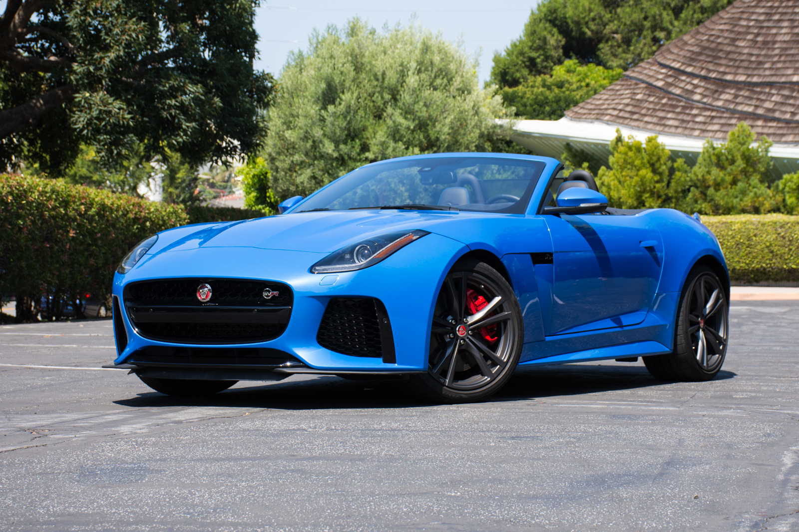 Jaguar F Type Convertible >> Drivin' L.A. with Andrew Chen: 2017 Jaguar F-Type SVR Convertible | FactoryTwoFour