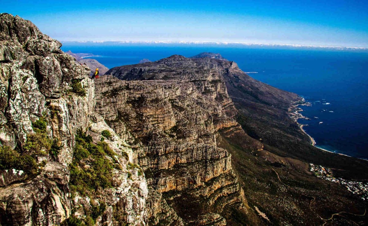 Abseil Table Mountain, Cape Town