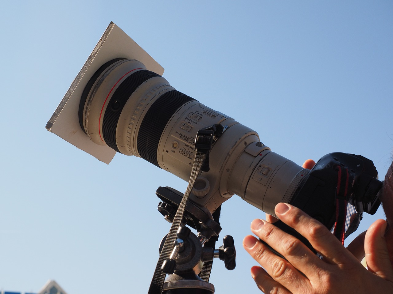 Photography Camera to Photograph the Total Solar Eclipse