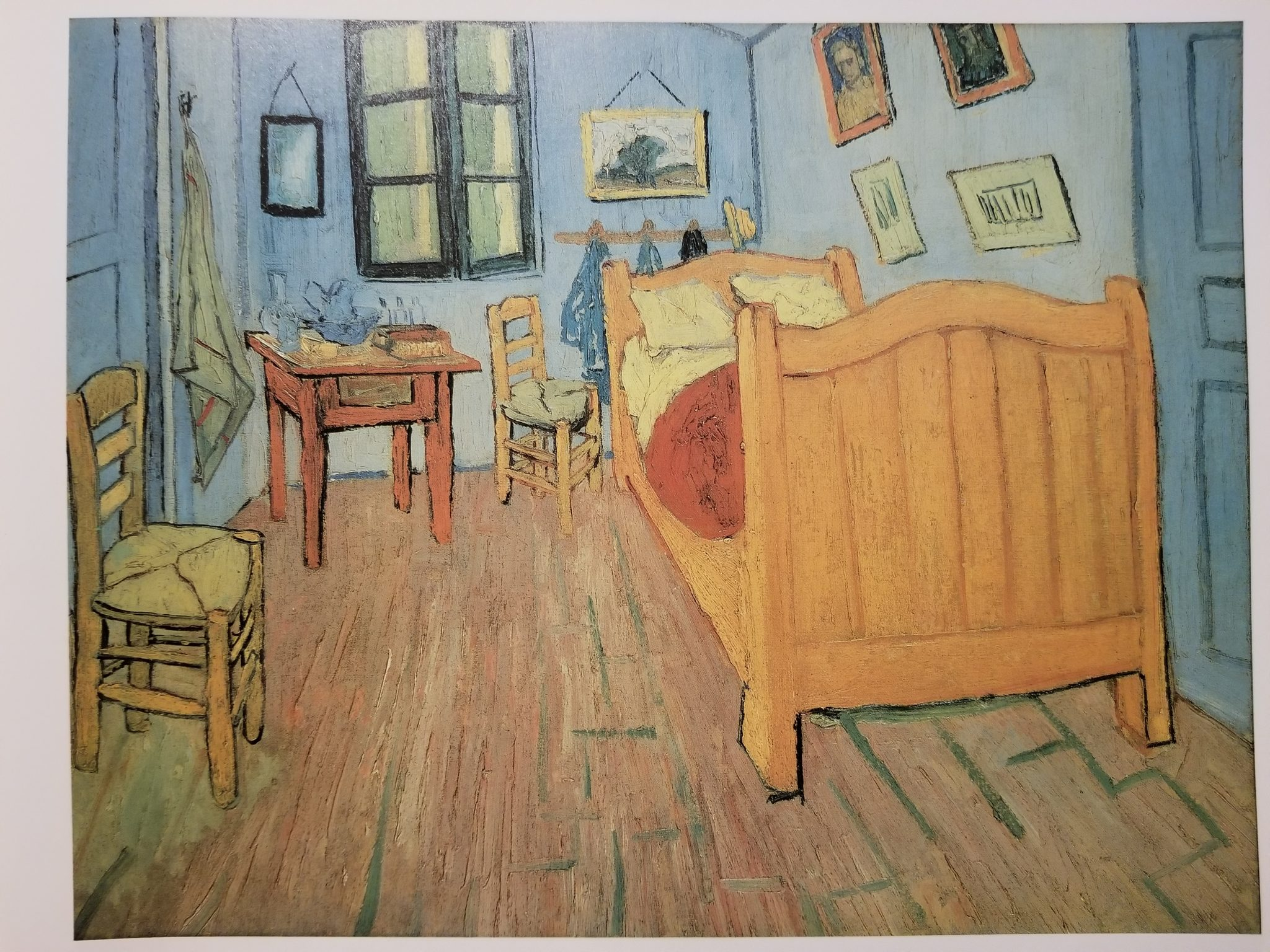 Bedroom in Arles by van Gogh