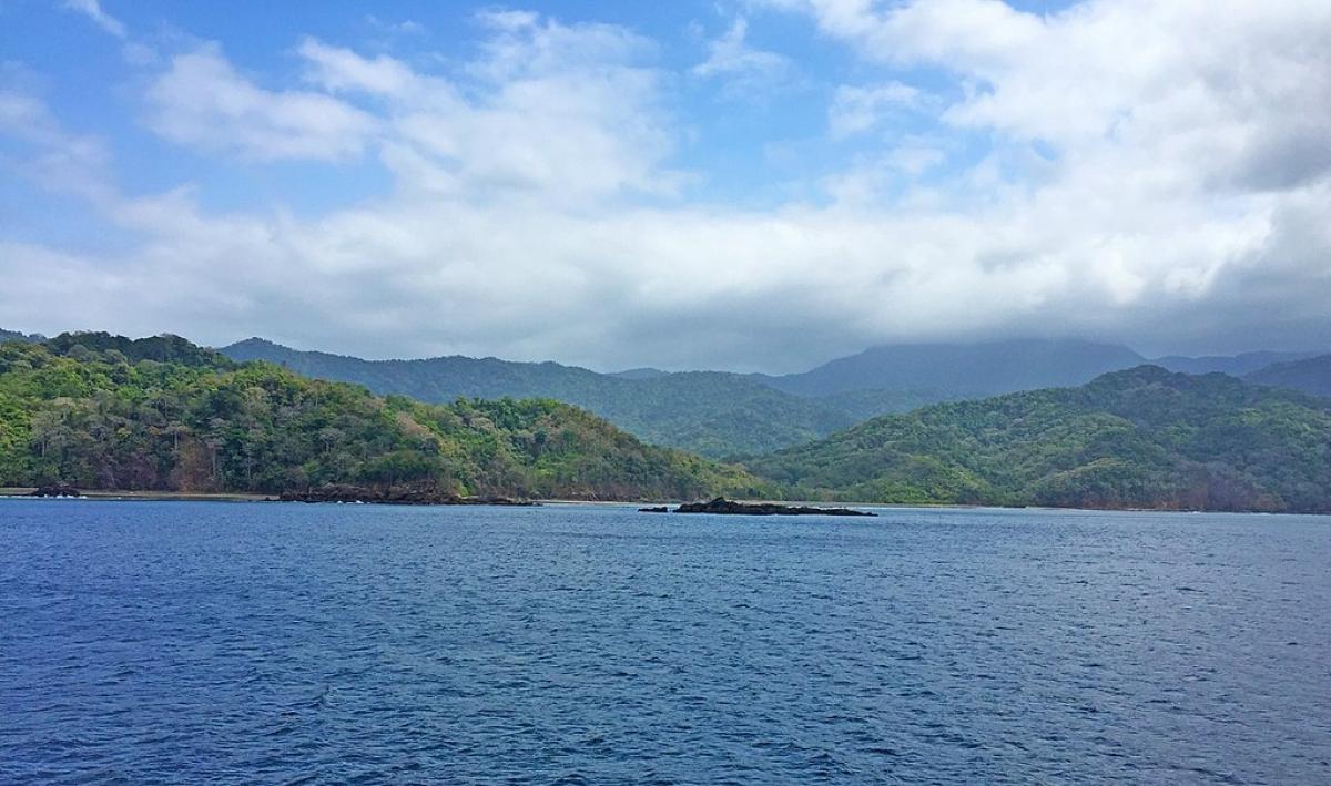 Darien Gap from Panama's Pacific Coast