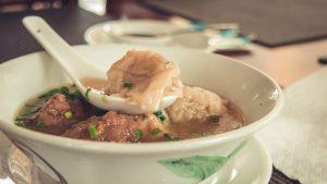 Dumpling Soup in Mauritius
