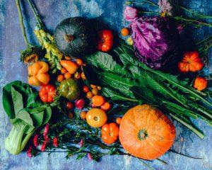 Vegan Diet gardening