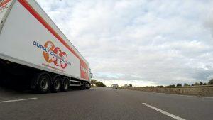 Truck Accident driving fleet