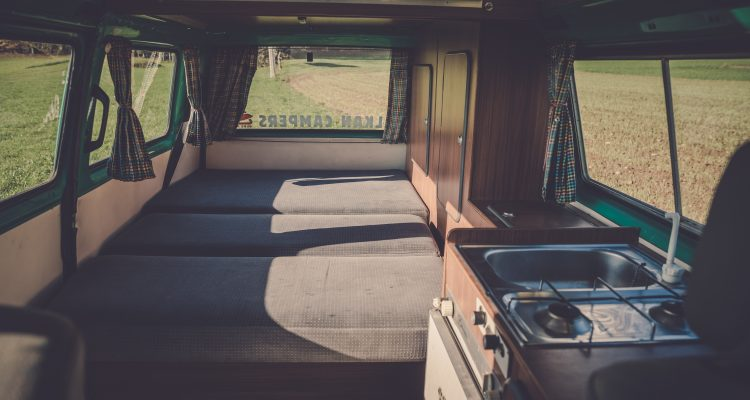 First-Time RV white vehicle