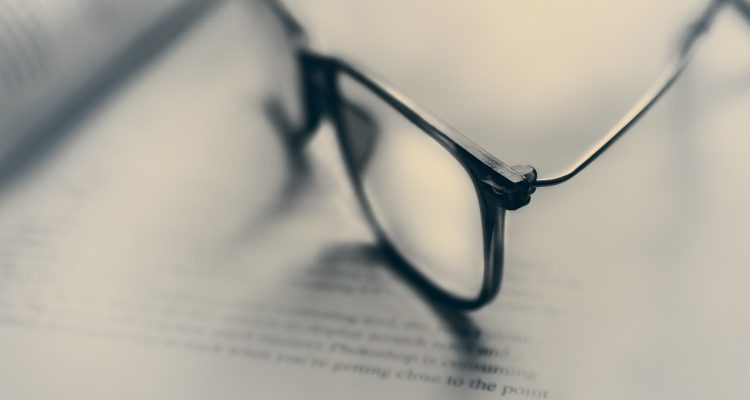 Estate Planning Contact Lenses eyeglasses in bokeh photography