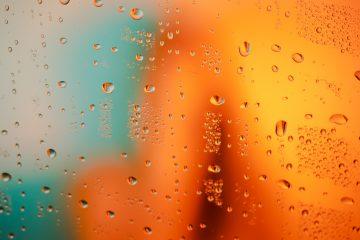 Medicare Supplement Plan CBD ED water droplets on glass window