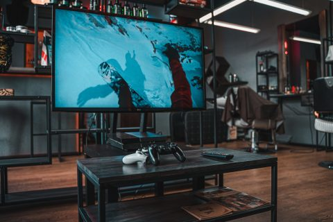 Home Theater Bachelor Pad man cave