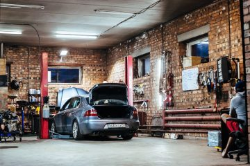 Car Parts Storage Space